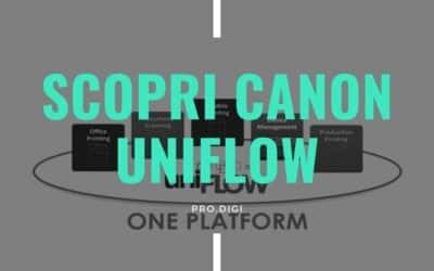 Canon Uniflow, che cos'è e per cosa si utilizza