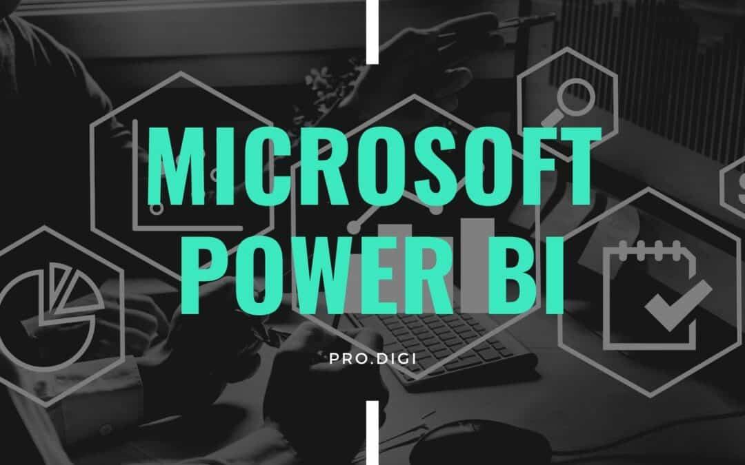Microsoft Power BI, cos'è, come funziona, per cosa può esserti utile.