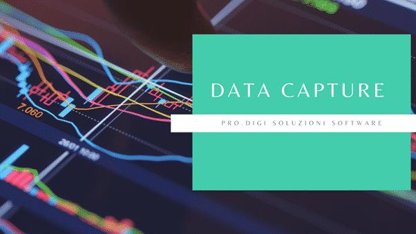Che cosa sono i Data Capture, e in cosa consiste il servizio di Prodigi?