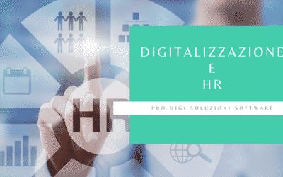 Digitalizzazione del reparto Risorse Umane